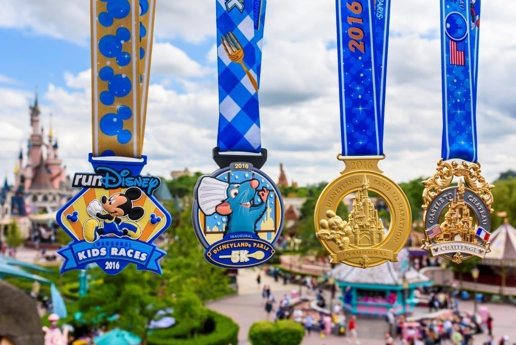 disneyland paris medals 2016