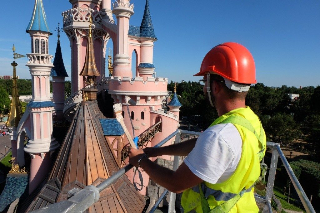 dlp castle refurbishment