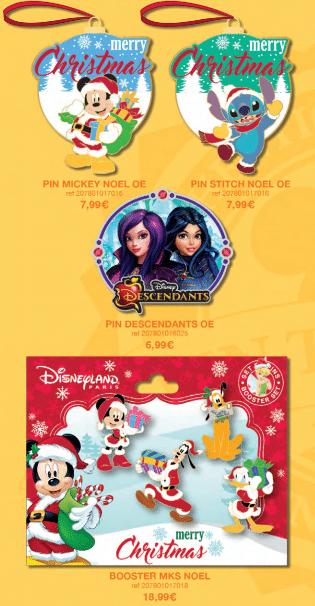 dlp pin trading 2016 august Christmas Descendants