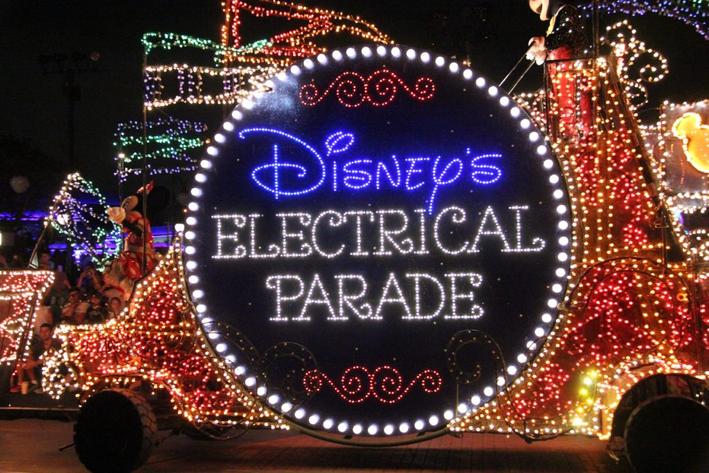 WDW main street electrical parade