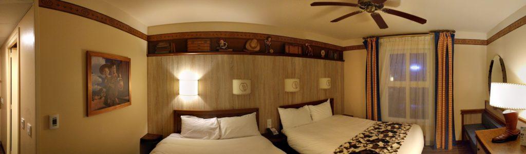 Hotel Cheyenne Texas Room Panoramic