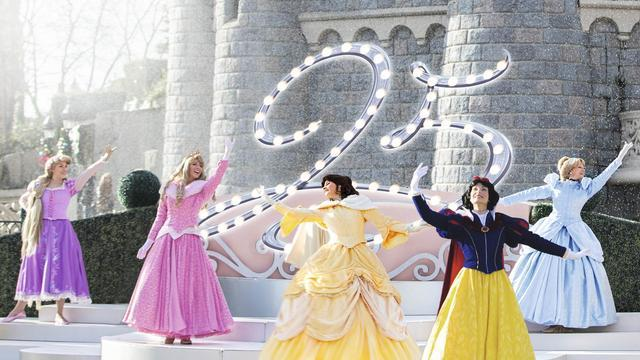 Princesses Castle Stage DLP 25