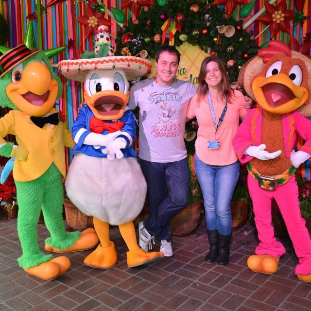 That time we met the Three Caballeros!
