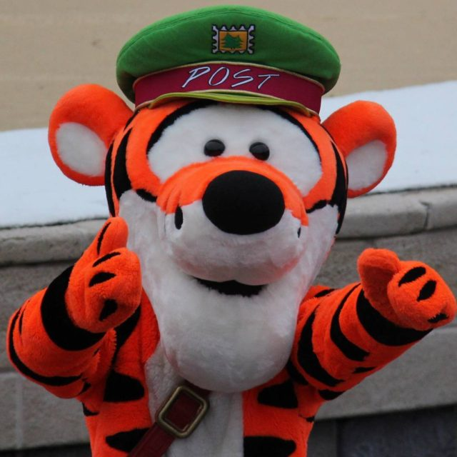 Tigger is ready to give you a hug!
