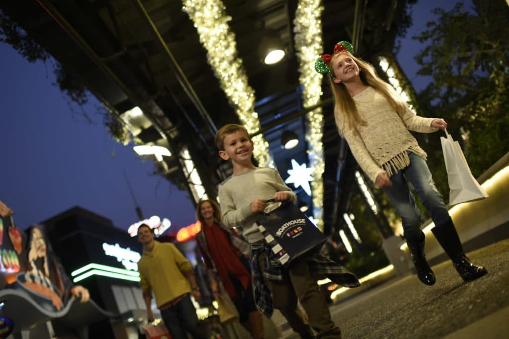 disney springs holiday shopping