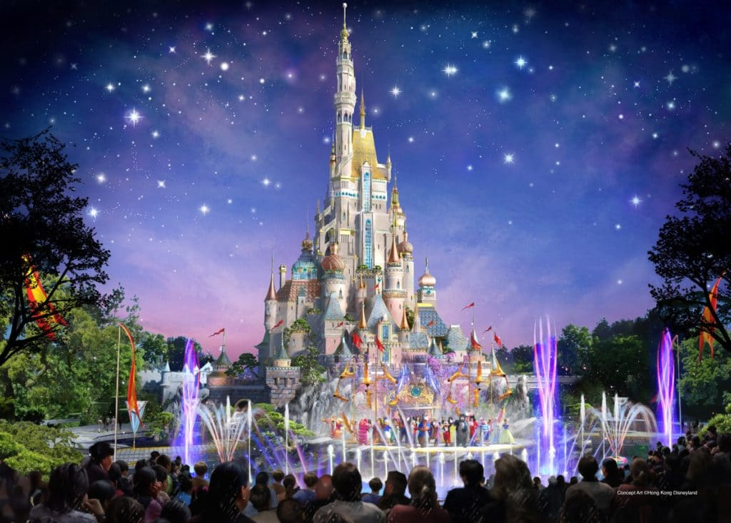 Hong Kong Disneyland - New Sleeping Beauty Castle