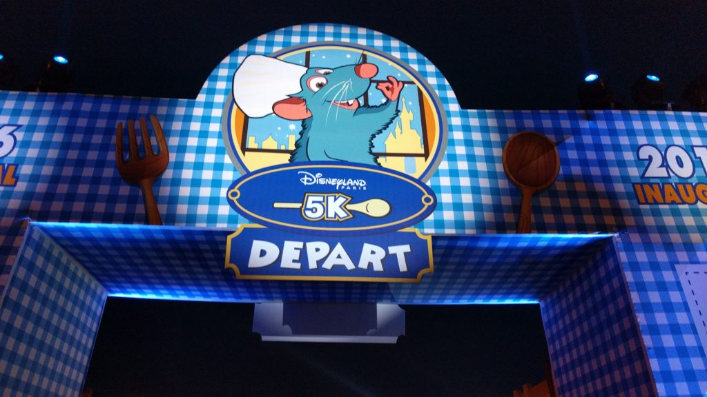 Disneyland Paris 5K runDisney 2016