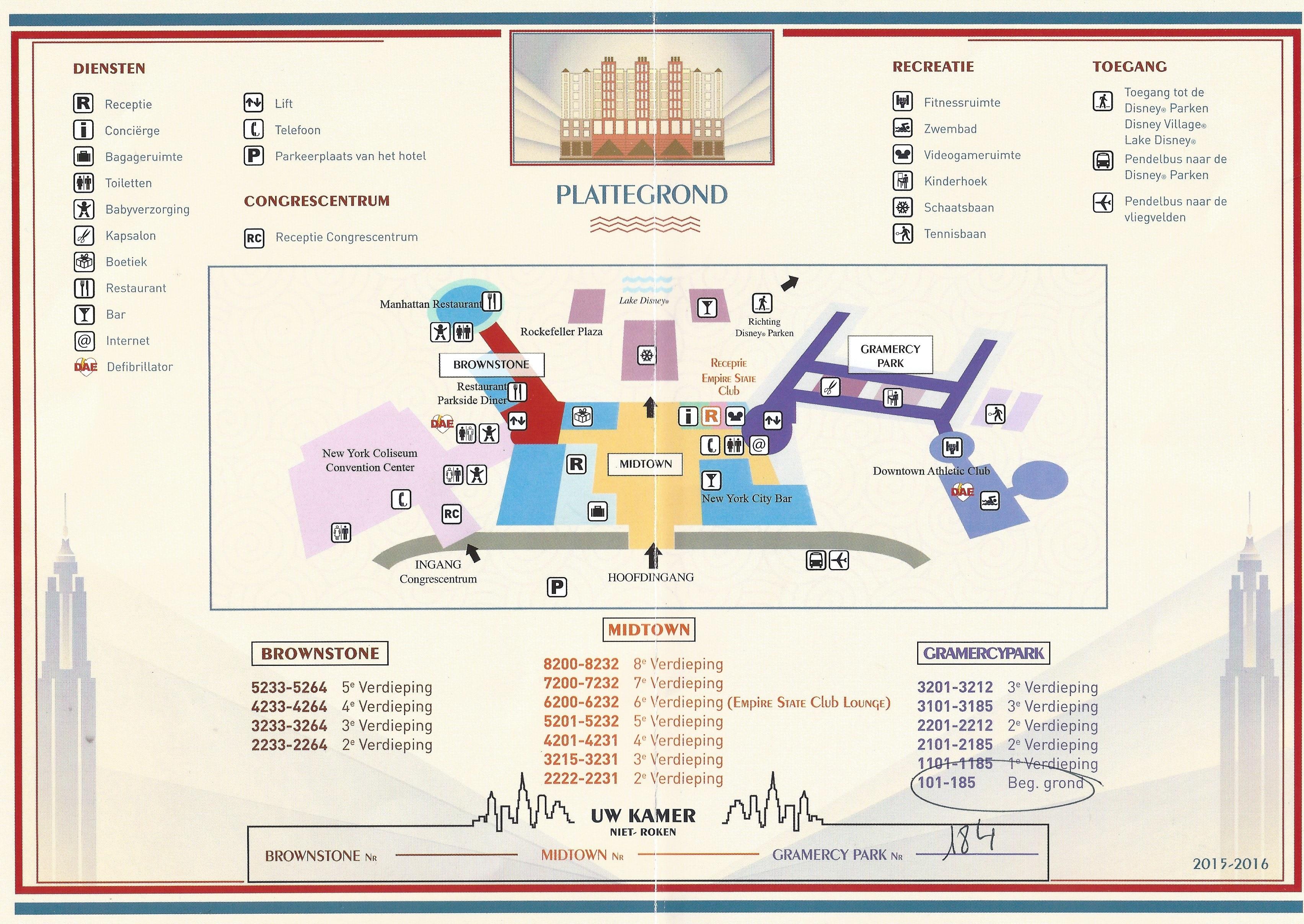 Review disney 39 s hotel new york at disneyland paris for Hotel new york