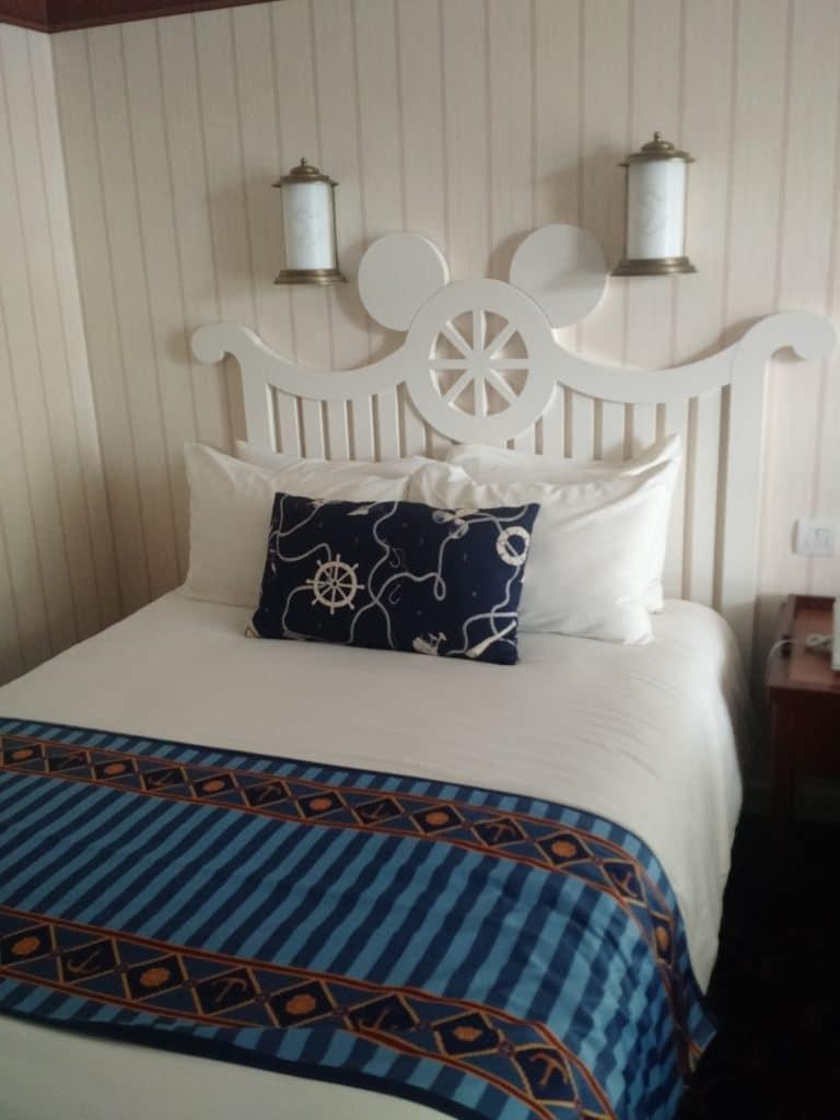 Bedroom at Disney's Newport Bay Club