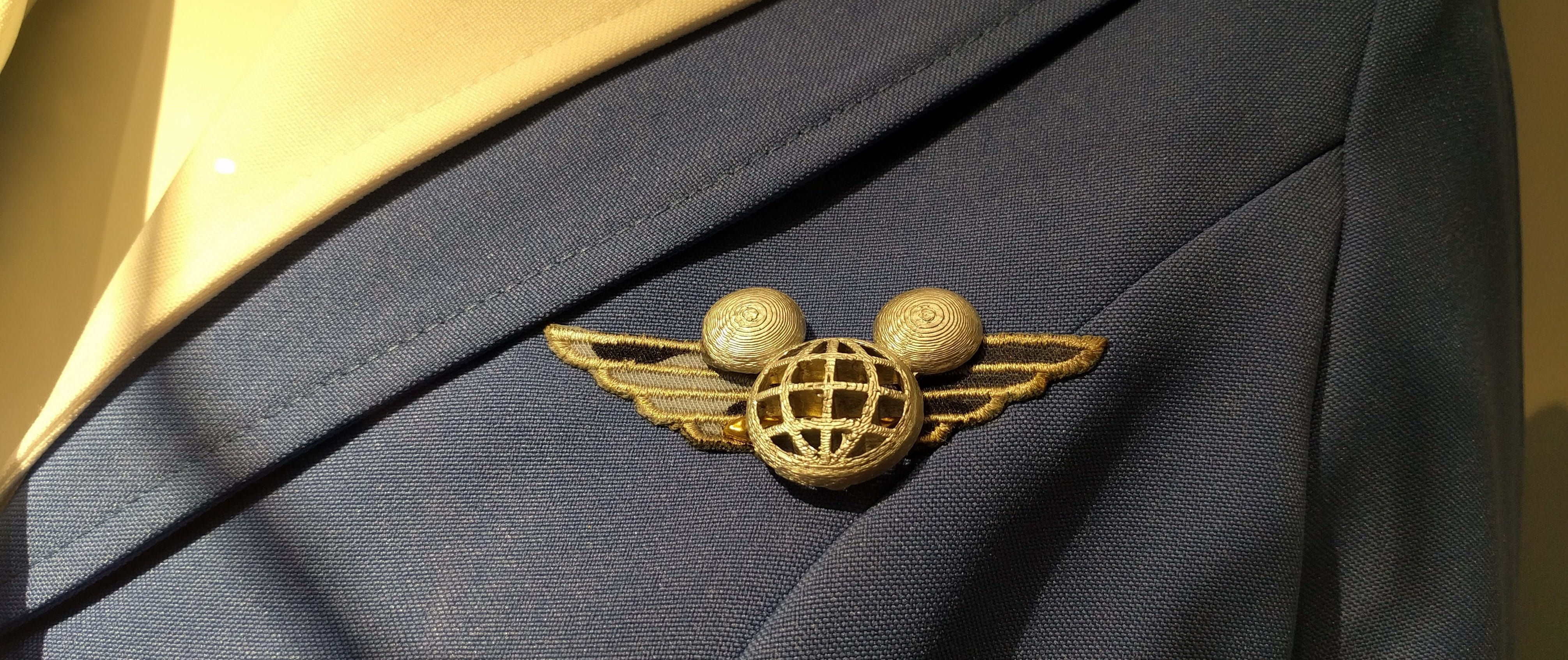 Uniform of Stewardess with Mickey Ears - Disney Round the World