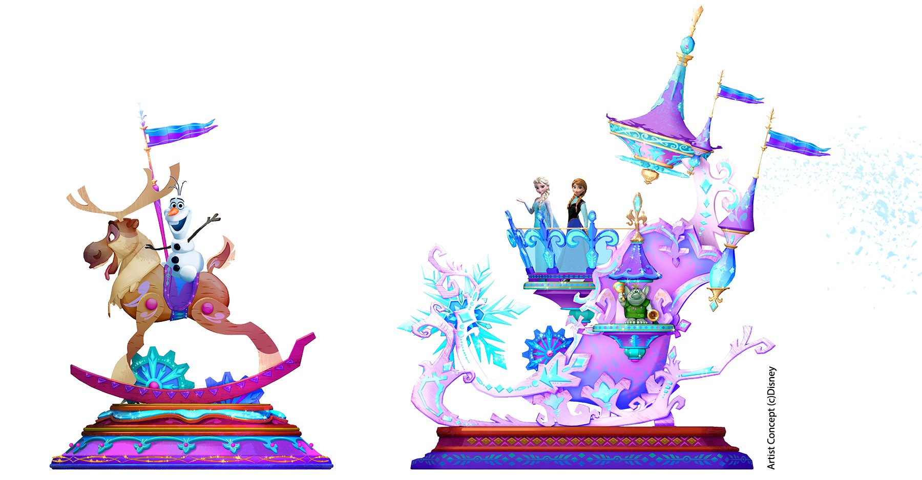 Disneyland Paris Accidentally Tweets Artwork Of Frozen