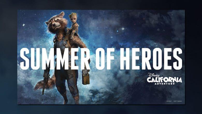 Disney California Adventure - Summer of Heroes