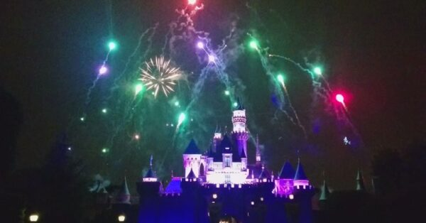 Fireworks at Disneyland - Remember, Dreams Come True