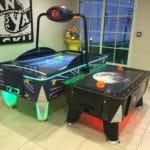 DLP Hotel B&B Arcade Room Air Hockey Tables