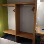 DLP Hotel B&B Closet Space and Desk