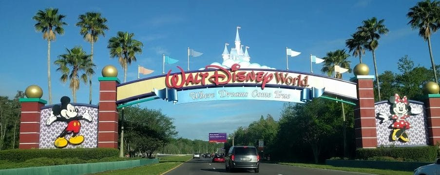 Walt Disney World Resort Entrance Sign