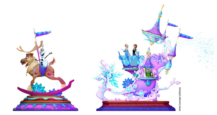 disneylandparis dlp25 frozen float