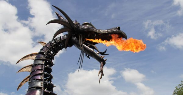 Dragon of the Festival of Fantasy Parade