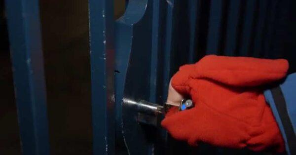 The gate is locked at Disneyland Paris