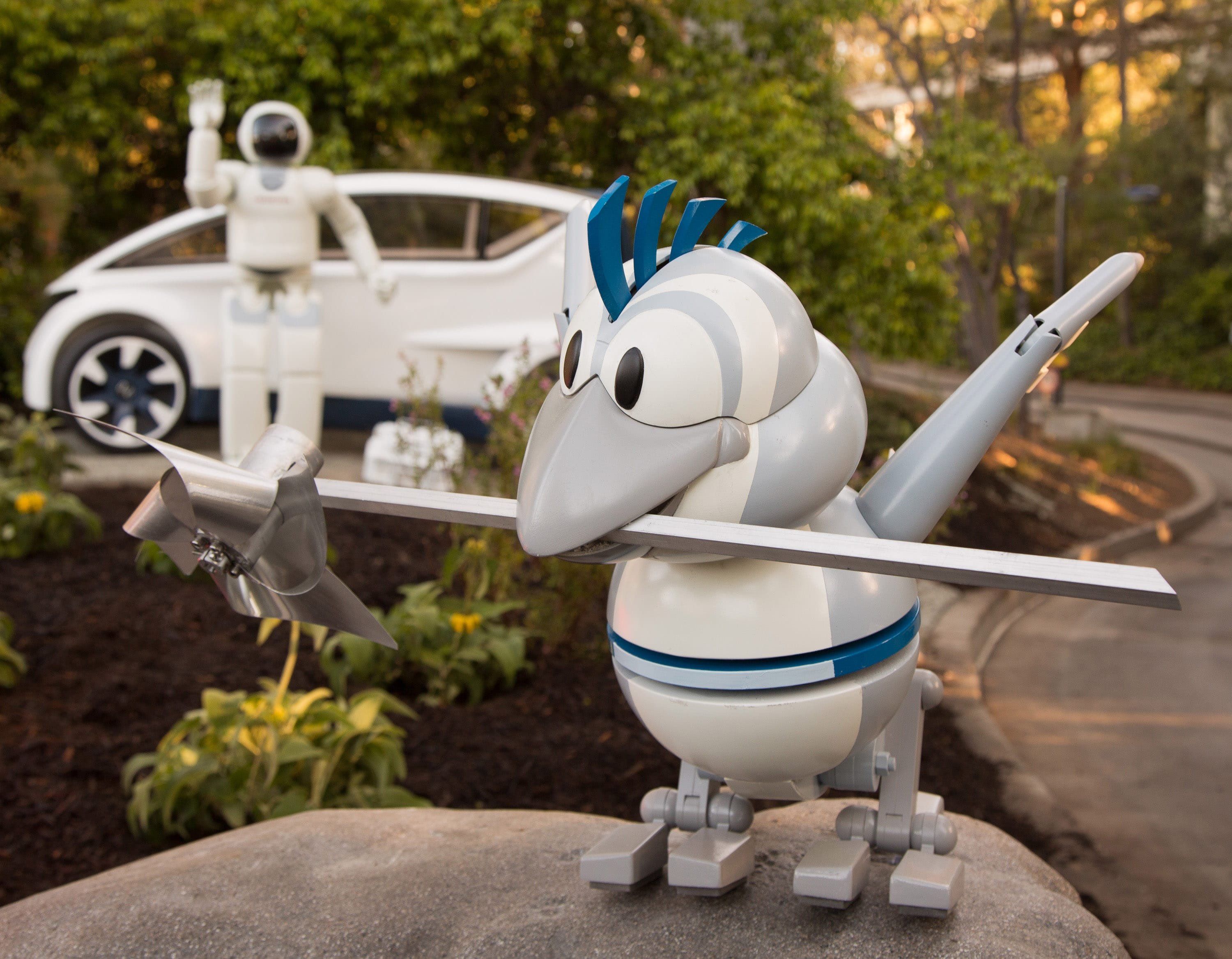 Autopia Enhancements with ASIMO - Disneyland