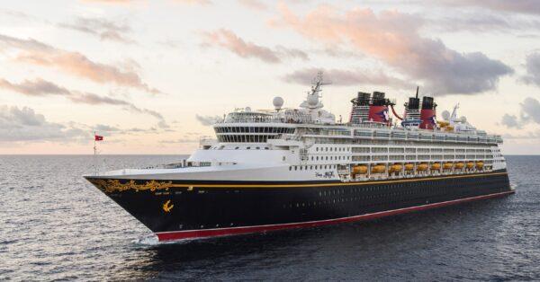 The Disney Magic at Sea