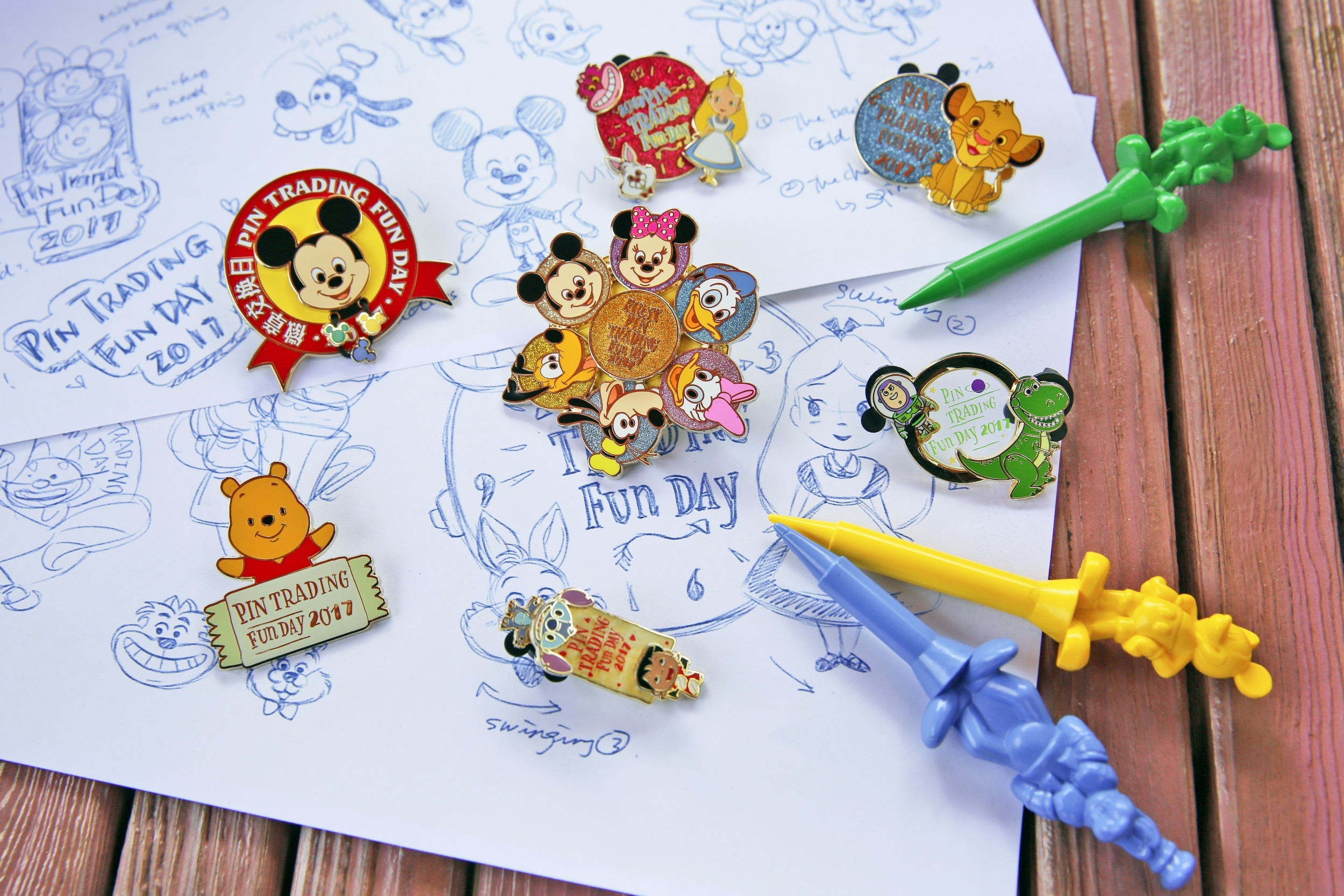 Pin Trading Shanghai Disney Resort