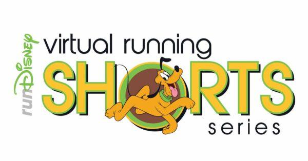 runDisney Virtual Running Shorts Pluto