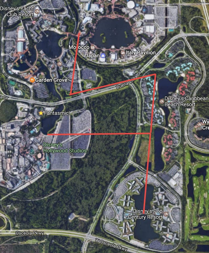 New Gondola / Skyway at Walt Disney World