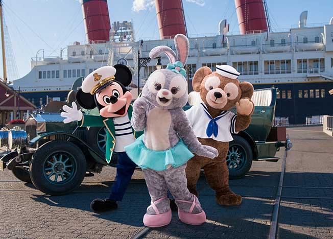 Toky DisneySea StellaLou Mickey and Duffy