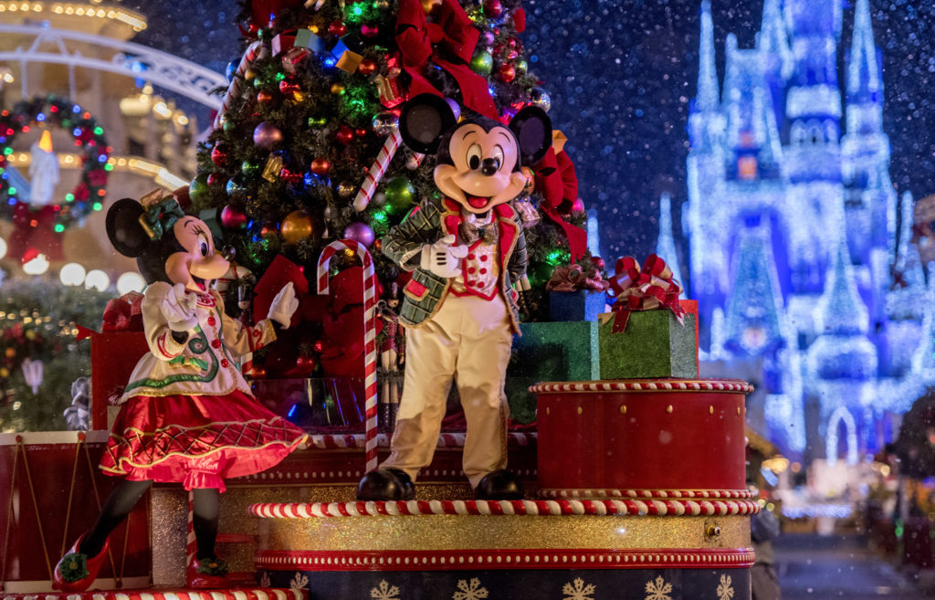 Mickey's Once Upon a Christmastime Parade