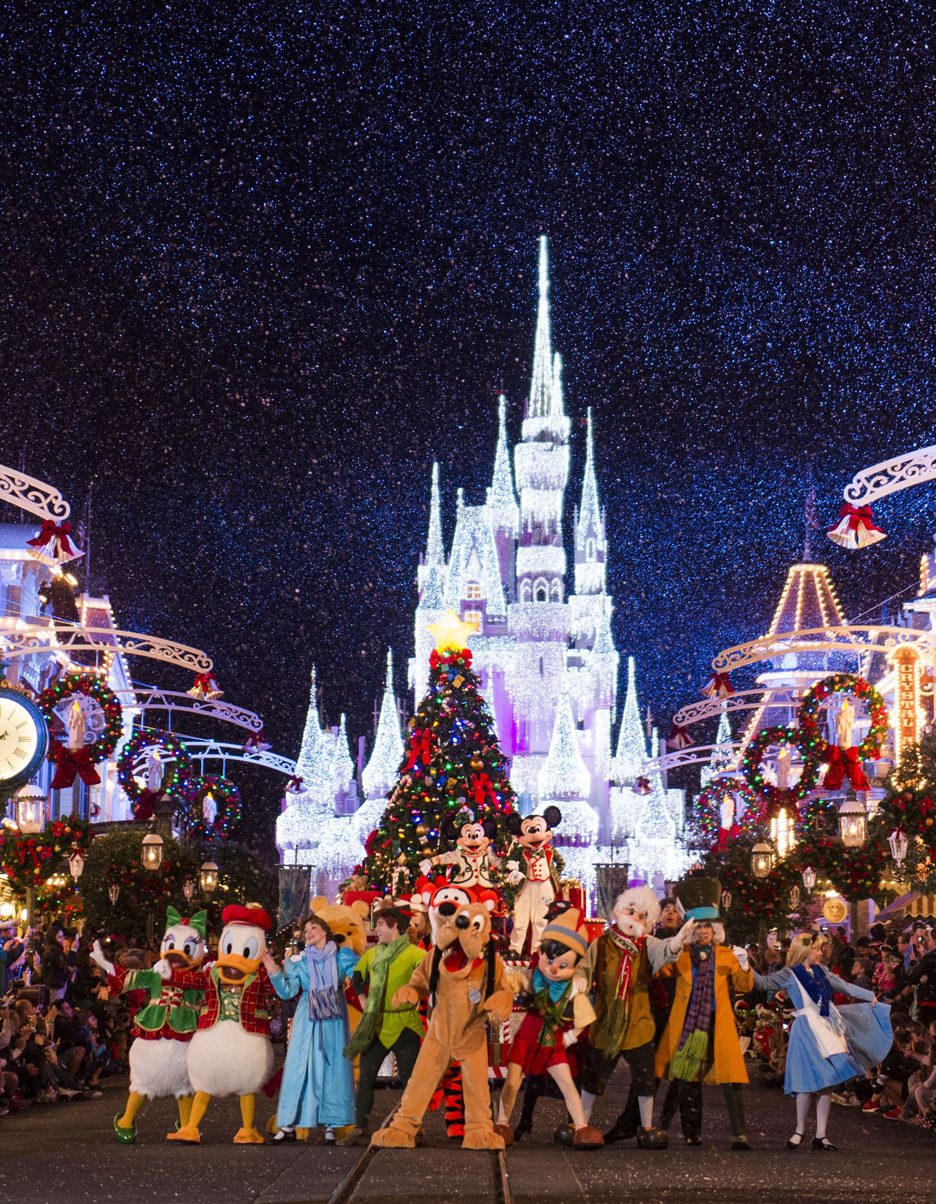 november 8 - Disneyworld At Christmas Time