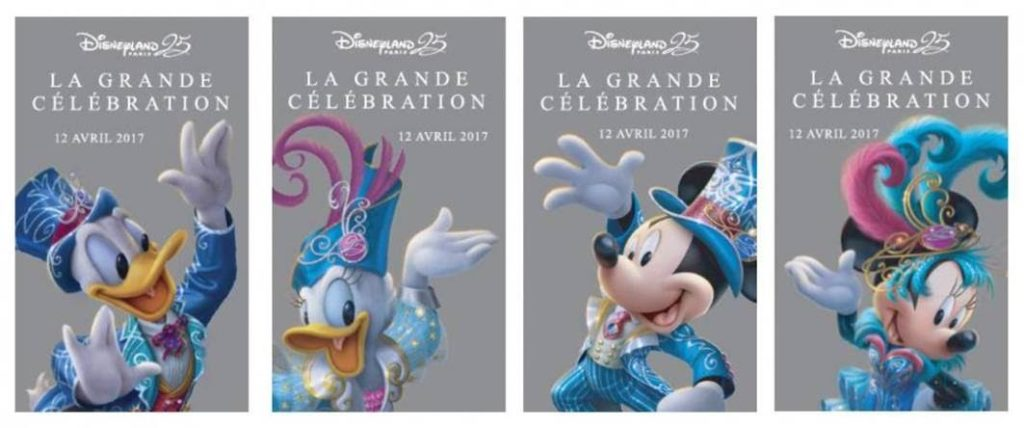 Anniversary ticket - Disneyland Paris