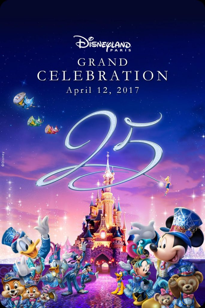 25th Anniversary Visual - Disneyland Paris - Grand Celebration
