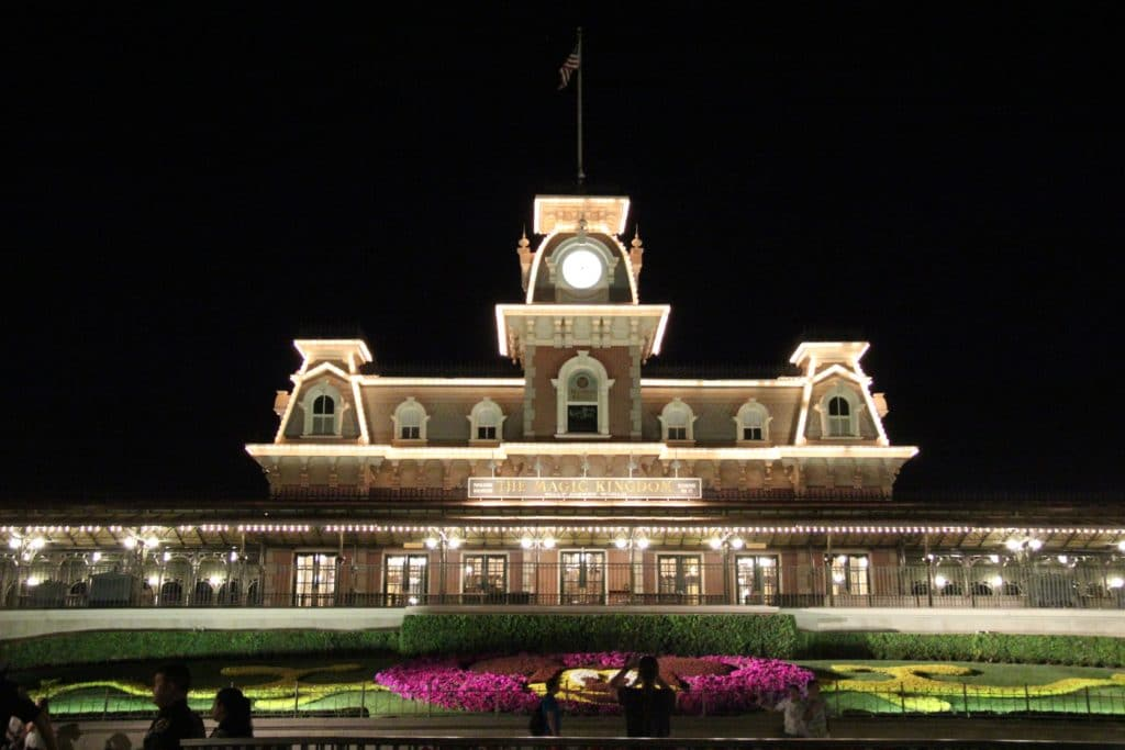 Entrance Magic Kingdom - Walt Disney World