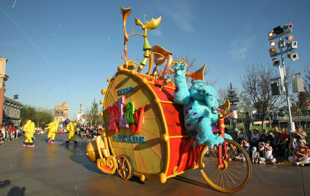 Pixar Play Parade, Sully - California Adventure