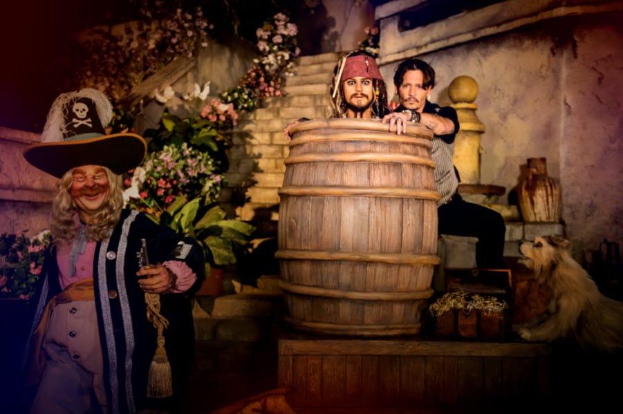 Johnny Dep - POTC - Disneyland Paris