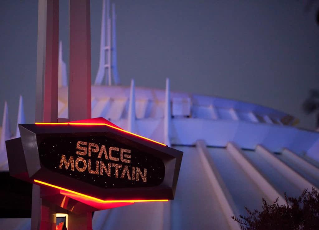 SPACE MOUNTAIN - Disneyland