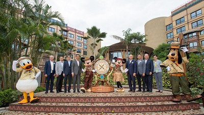 Opening Explorers Lodge Hong Kong Disneyland