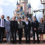 Cast and Crew Pirates of the Caribbean at Disneyland Paris