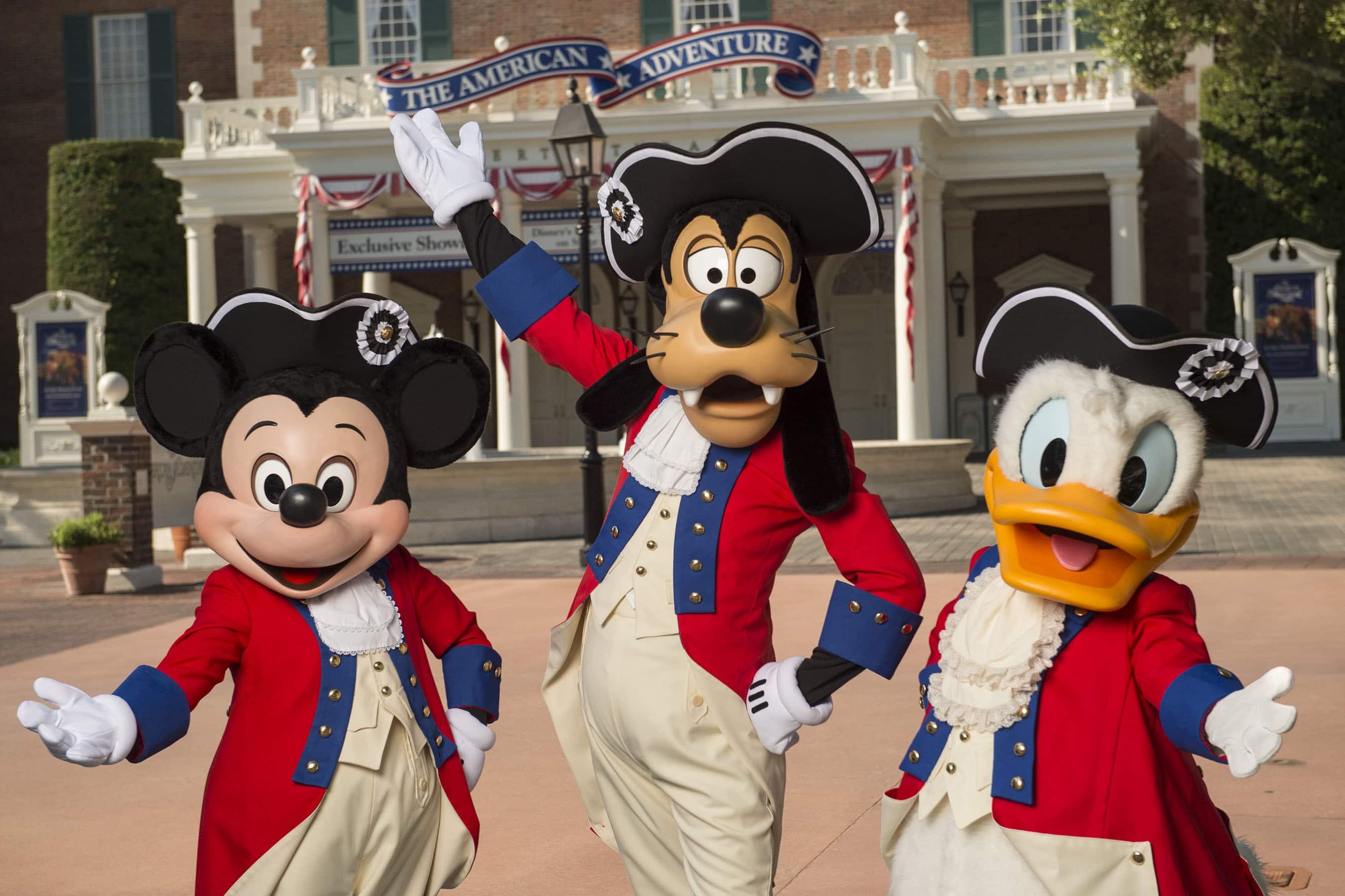 Fourth of July at Walt Disney World Resort