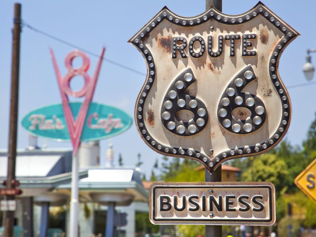 Radiator Springs / Cars Land Route 66