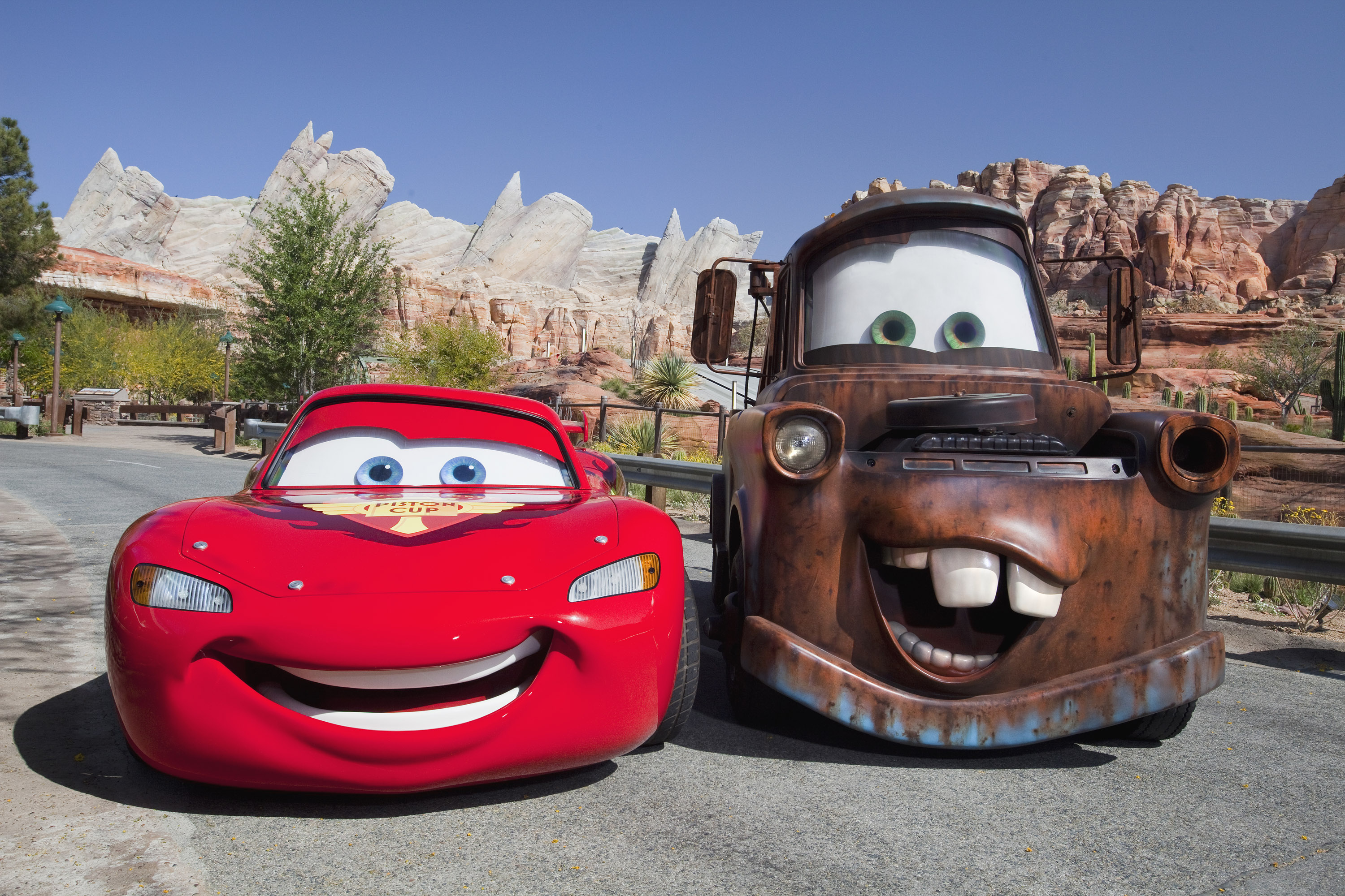 Facts On Cars Land At Disney California Adventure Park