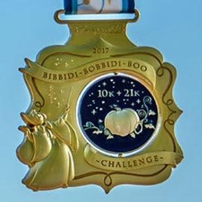 runDisney Disneyland Paris 2017 Bibbidi Bobbidi Boo challenge medal