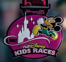runDisney Disneyland Paris 2017 - Mickey medal