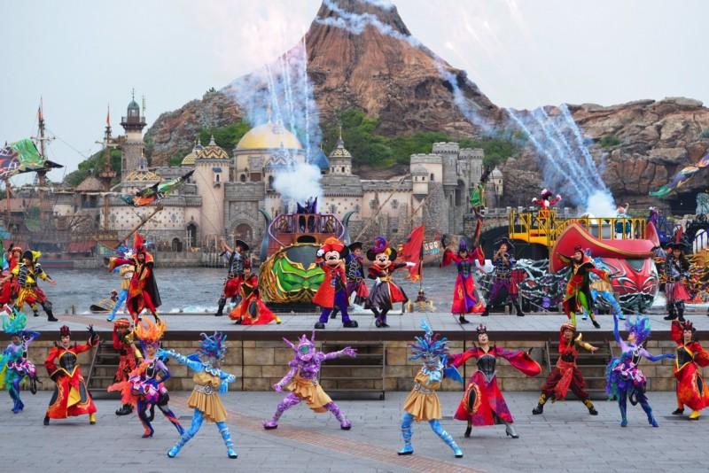 Tokyo Disney Sea Halloween Villians World