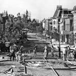 Main Street USA under Construction - Disneyland