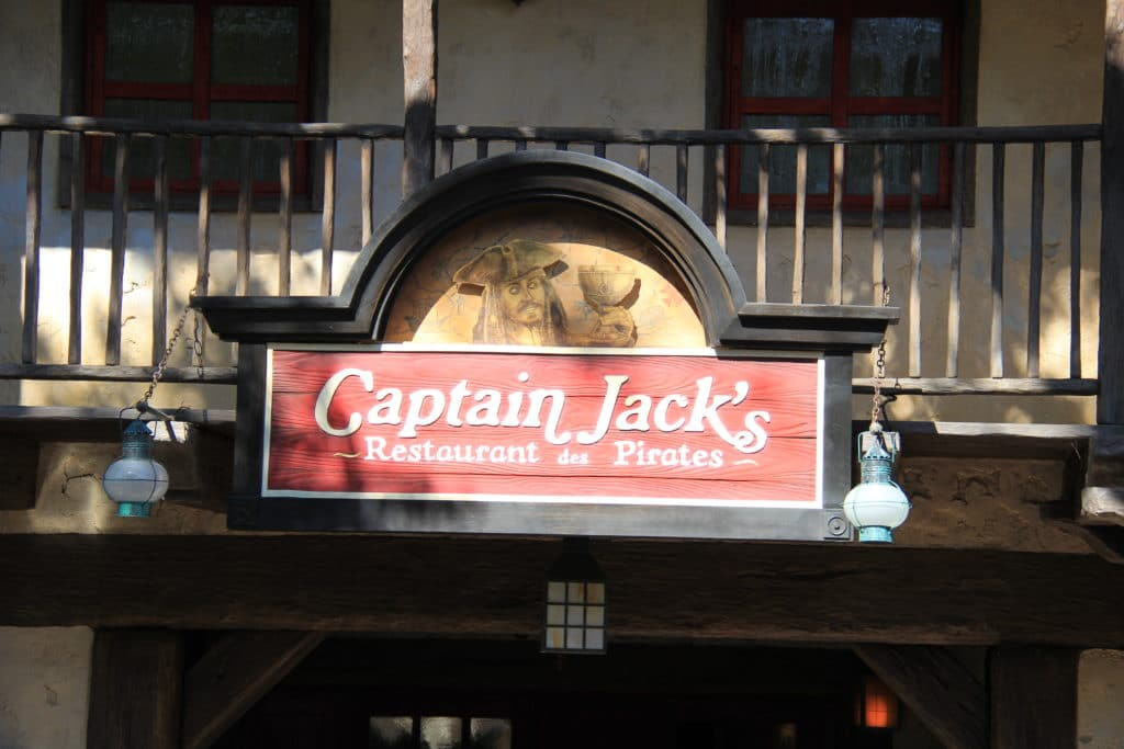 Pirates of the Caribbean - Disneyland Paris - Captain Jack Restaurant