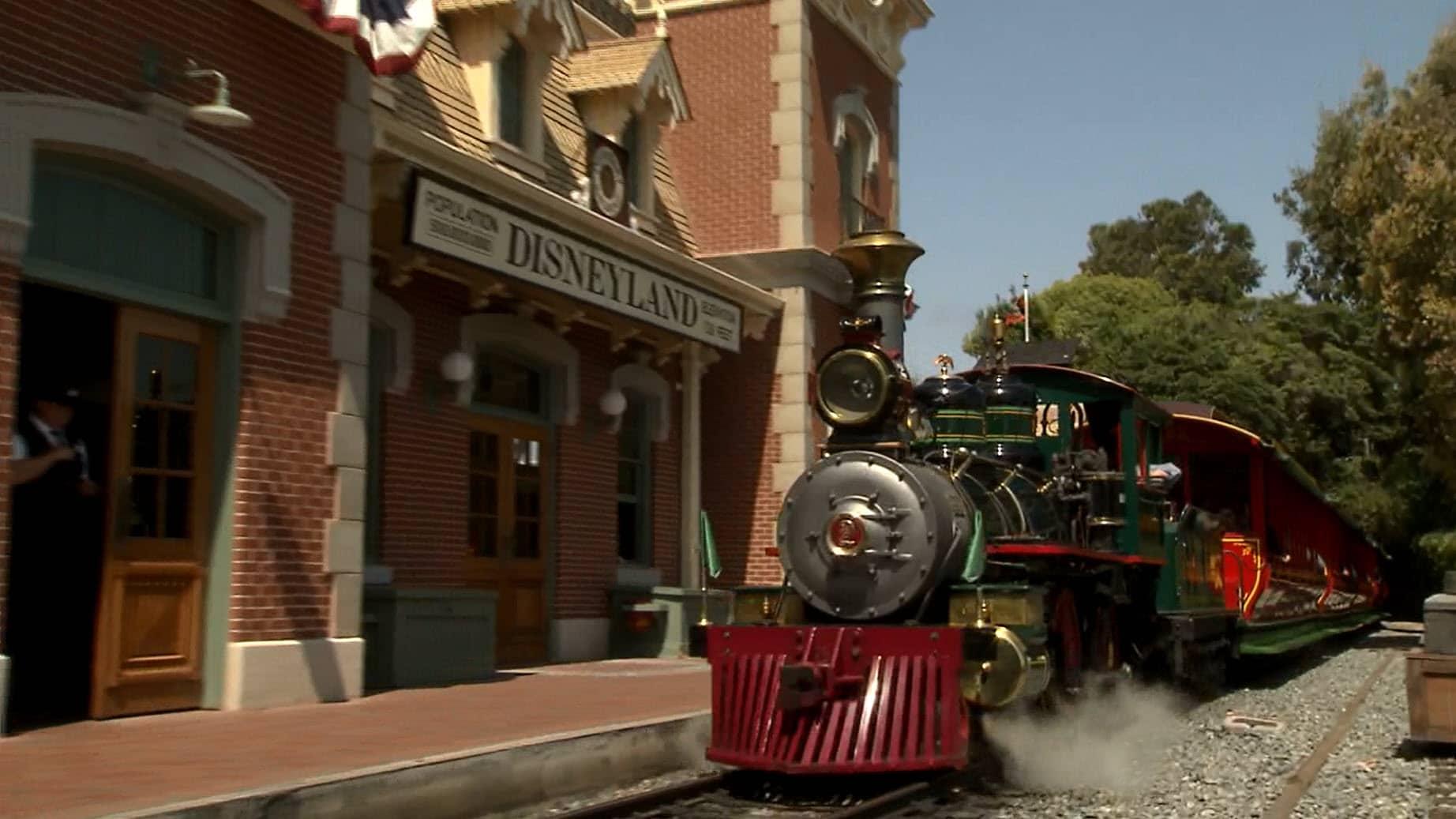 Disneyland - Disneyland Railroad