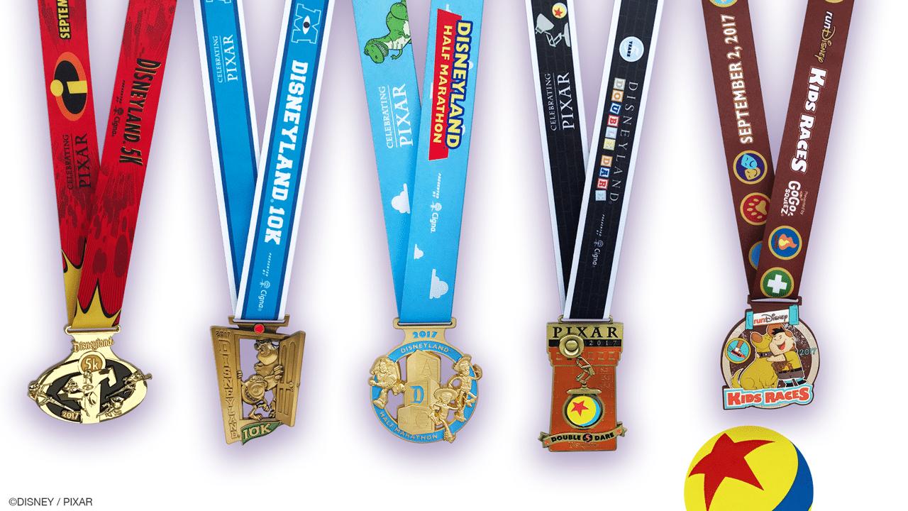 Disneyland Half Marathon Weekend Medals 2017