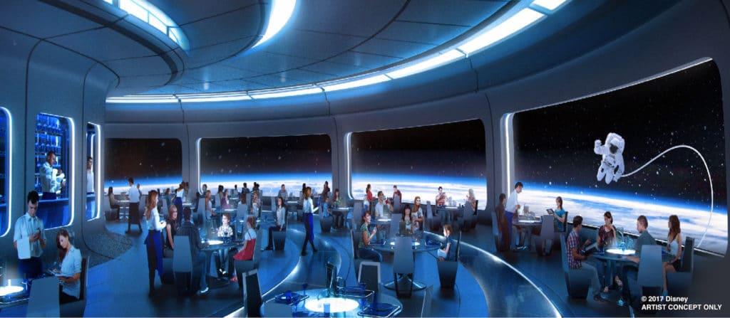 Restaurant Mission Space - Epcot